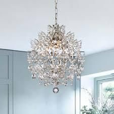Dalia Indoor 3 light Brushed Champagne Crystal Chandelier  Retail 180 49