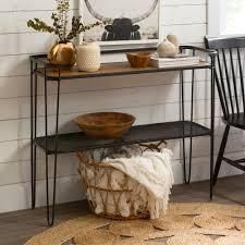 Carbon loft Ogle Hairpin Entryway Table  Retail 144 99