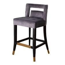 abbyson velvet counter stool