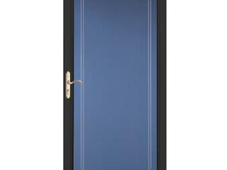 Pella Select 36 in x 81 in Black Full View Aluminum Storm Door