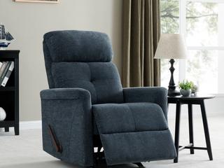 Copper Grove Navy Polletts Rocker Recliner Chair  Retail   499 99