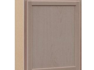 Hampton Bay Hampton Assembled 24x30x12 in  Wall Kitchen Cabinet in Unfinished Beech
