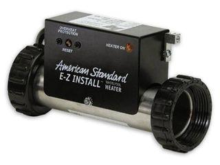 American Standard EZ Install 9 in  x 3 in  1500 Watt Whirlpool Heater  Retail   279 53