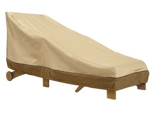 Classic Accessories Veranda Water Resistant 66 Inch Patio Chaise lounge Cover