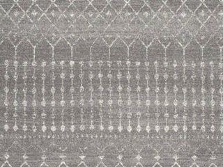BODRUM 8ft x 10ft Dark Grey Rug