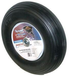 Wheel Barrow Wheel and Tire 4 00   6 One bad bearing