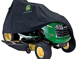 John Deere Deluxe Riding Mower Cover Accessory 54 in  100 Series Black
