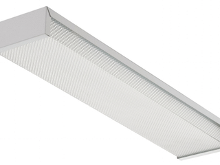 lithonia lighting WRAP 2 light 17W T8 Fluorescent Narrow Wraparound   2 Feet