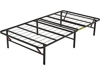 Full Size   Amazonbasics Foldable Metal Platform Bed Frame   14 Inch Height For Under bed