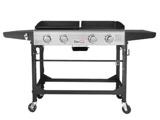 Royal Gourmet 4 Burner Folding Gas Grill  Model GD401  Missing Parts   Please See Photos