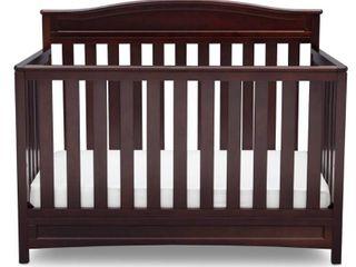 Delta Children Emery 4 in 1 Convertible Crib   Dark Chocolate