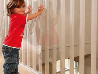 Kidkusion Indoor Outdoor Banister Guard  Clear  15