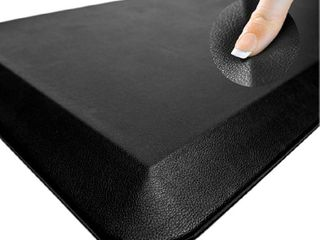 Oasis Comfort Anti Fatigue Mat   Perfect for Kitchens and Standing Desks  20  x 32  x 3 4    Black