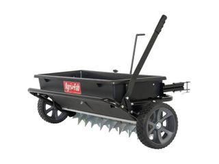 Agri Fab 45 0543 100 lb  Tow Spiker Seeder Spreader  Black