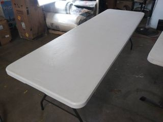 8 Ft Wide x 30 Inch Cosco Folding Table