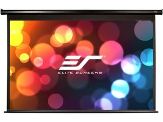 Elite Screens Spectrum Electric Motorized Projector Screen with Multi Aspect Ratio Function Max Size 84 inch Diag 16 9 to 80 inch Diag 2 35 1  Home Theater 8K 4K Ultra HD Ready Projection  ElECTRIC84H