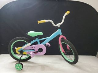 JOYSTAR 16 Inch Kids Bike for 4 5 6 7 Years Girls  Child Bicycle with Training Wheels for 4 7 Years Kids  85  Assembled