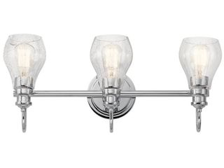 Kichler Greenbrier 3 light 24  Wide Bathroom Vanity light