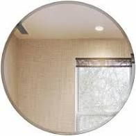 The Better Bevel Frameless Round Mirror