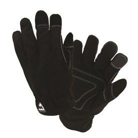 West Chester X large Unisex Black Polyester Insulated Winter Gloves