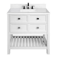 Scott living Canterbury 36   in vanity sink and drawers white