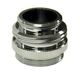 Danco  Chrome Multi Thread Garden Hose Aerator Adapter