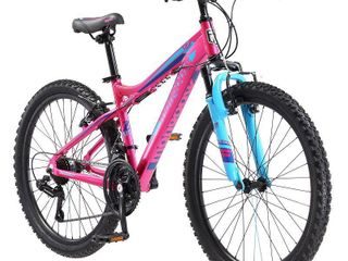 Mongoose Girls Front Suspension Mountain Bike APPEARS USED