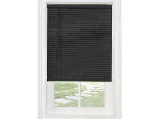 2 Achim Cordless GII Morningstar 1  light Filtering Mini Window Blind  Black
