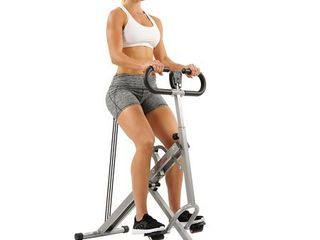 Sunny Health   Fitness Squat Machine Row N Ride Trainer for Glutes Workout   NO  077