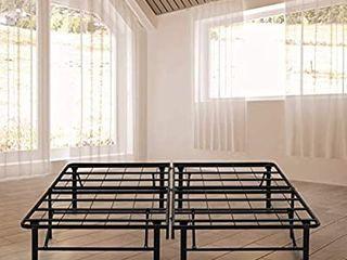 Boyd Sleep Raised Platform Bed Frame Base   Metal Mattress Foundation 18  size unknown