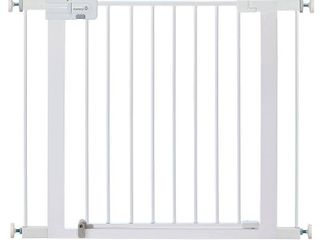 Safety 1st Adjustable Pressure Mounted Walk Through Gate   Not Inspected
