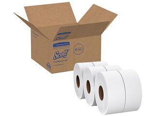 Scott 07202 Jumbo Sr  1 Ply Toilet Paper Rolls  6 Rolls  KCC07202