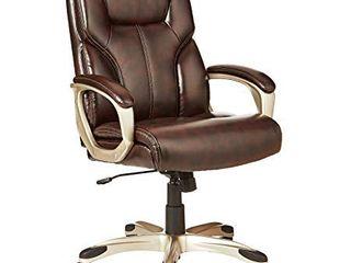 AmazonBasics High Back Executive Chair   Brown