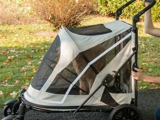 Pet Gear Expedition Jogging Pet Stroller  White