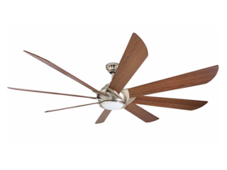 Harbor Breeze Hydra 70  Downrod Ceiling Fan with light Kit and Remote  8 Blade