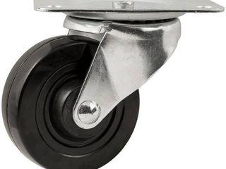 Waxman 4  Heavy Duty Swivel Rubber Caster