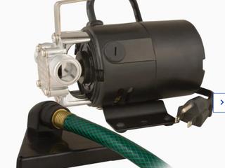Utilitech 1 12 Hp Stainless Steel lawn Transfer Pump