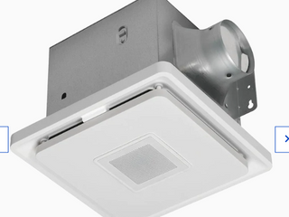 Home Netwerks 1 5 sone 110 cfm White Bathroom Fan Model 7130 13 bt Read
