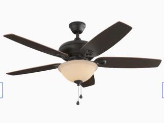 Harbor Breeze Coastal Creek 52 in Bronze led Indoor Ceiling Fan