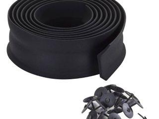 M D Products 03723 9  Rubber Garage Door Bottom Seal