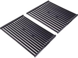 Broil King 16  2pc Signet Crown Cast Iron Cooking Grid Black