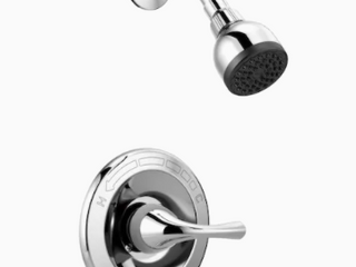 Delta Foundations Chrome 1 handle Bathtub And Shower Faucet With Valve B114915c