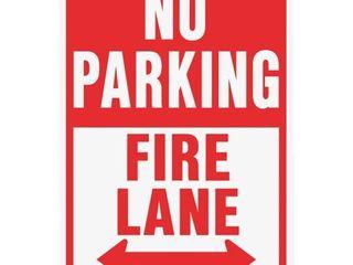 Hyko Prod  12x18 Fire lane Sign HW 26
