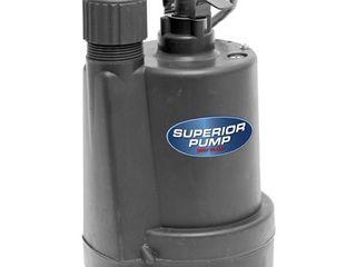 Superior Pump 1 4 HP Utility Pump