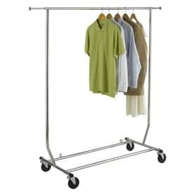 Easy Home Organization Deluxe Steel Garment Rack