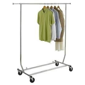 Easy Home Organization Deluxe Steel Garment Rack
