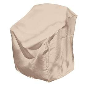 elemental Taupe Dining Chair Cover