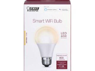 FEIT ElECTRIC 9W SW lED Smart Bulb OM60 927CA AG