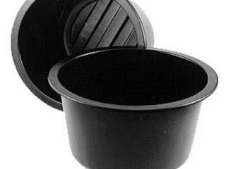 MacCourt 20 Gallon Black High Density Polyethylene Pond liner