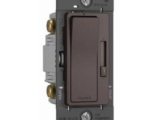 legrand radiant 15 amps 450 watts Slide Dimmer Switch Dark Bronze